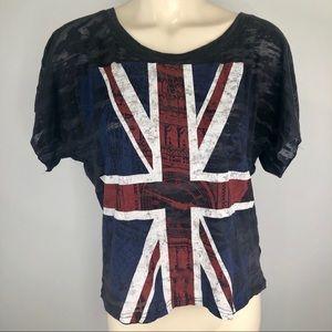 United Kingdom/Flag/London/T-shirt graphic medium